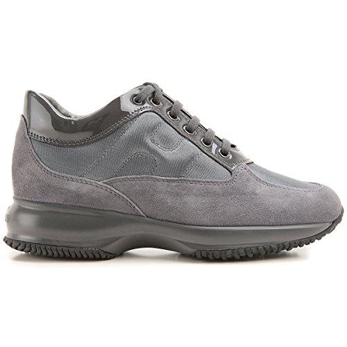 Sneaker Interactive Scamosciate HXW00N0001035X9998 Grigio Donna 39