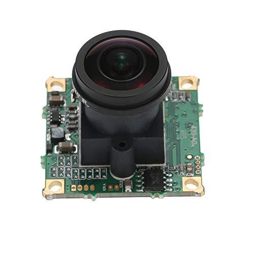 Shangcer Kamera 360 ° Fischauge 5MP FPV Kamera 1,7-mm-Objektiv PAL-Format für QAV250 FPV-Luftbildfotografie Praktisch für Ihre Fotografie Digitale Pal-dvr