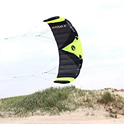 Wolkenstürmer Paraflex Trainer 3.1 Actionkite - 3 Leiner Trainer-Lenkmatte zum Mountainboardfahren