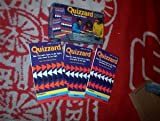 QUIZZARD GAME BOOKS: SET OF 3 Early Learning Edition [Paperback] [Jan 01, 1988] Random House Publications by Quizzaed