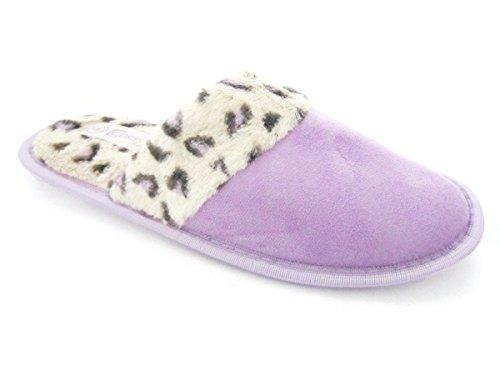 Luxury, mules pour femme Violet - violet
