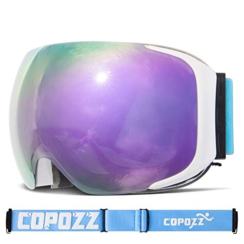 NO BRAND Gafas esquí Gafas esquí reemplazables UV400