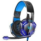 Die besten VersionTech Gaming-Headset - Gaming-Headset G2000 Stereo-Gaming-Headset für Xbox One PS4 PC Bewertungen