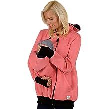 Tragejacke 3 in 1 für Mama, Papa und Baby | Umstandsjacke von Evagreen |  Sportliche