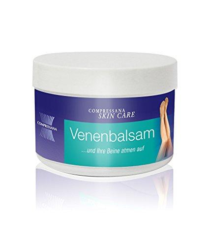 COMPRESSANA Venen-Balsam gegen schwere und müde Beine - schützt, pflegt und erfrischt die Venen - mit Rosskastanien- und...