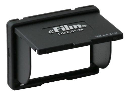 Delkin Devices Universeller Aufklappbarer Schutz für 6,3 cm-LCD-Bildschirme Schwarz Delkin Pop-up Shade