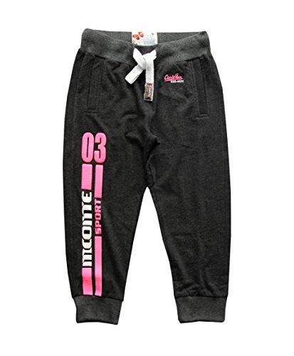 M.Conte Sporting Ladies Fitness Loisirs sweatpants couleurs Anthracite Noir Blanc S M L XL Nanni noir, anthracite, blanc melange Schwarz