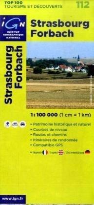 Strasbourg/Forbach: IGN.V112