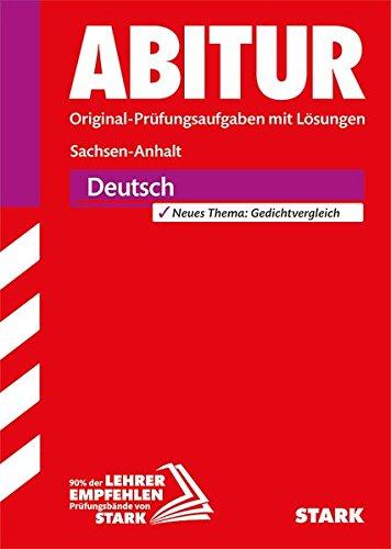 Abiturprüfung Sachsen-Anhalt - Deutsch GA/EA