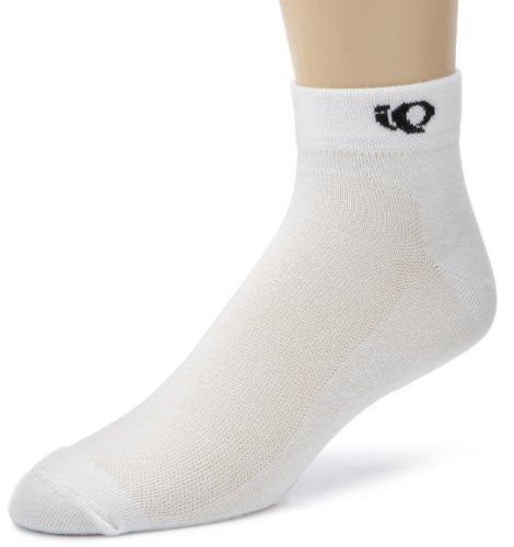 Pearl Izumi Radfahren Gear (Pearl Izumi Attack Low Socke, Damen Jungen Mädchen, 9344, weiß, XL)