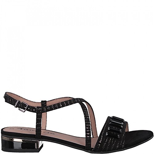 Tamaris 1-28221-20 Sandales Mode Femme Schwarz