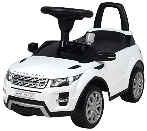 MamaLoes Eco Toys Range Rover weiß Lauflernauto, Rutschauto, Rutscher CLB-348b