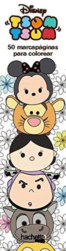 Marcapáginas Tsum Tsum (Hachette Heroes - Disney - Colorear)