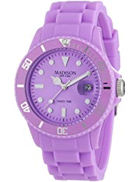 Pastell Lila Madison New York Candy Time Unisex Armbanduhr