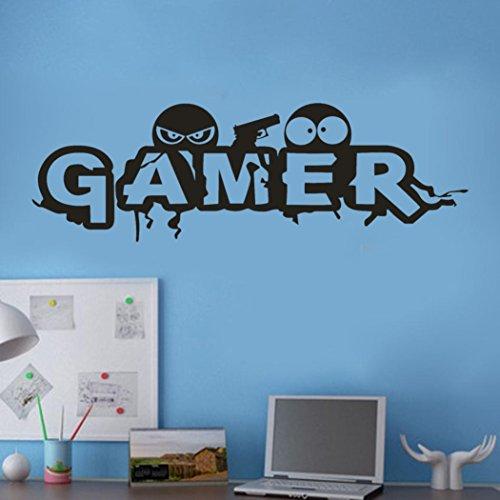 ❤️Pegatinas pared❤️Dragon868 Gamer