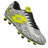 Lotto Men's Football Boots White Bianco/Nero/Giallo White Size: 6