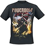 Powerwolf Wolf Warrior T-Shirt schwarz L