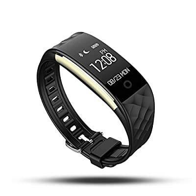 Cospor Fitness Tracker Wireless Activity Trackers Smart Bracelet with Heart Rate Monitors for IOS Android Activity Watch Wristband. from COSPOR