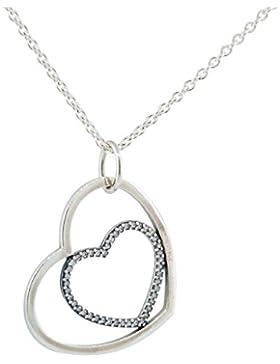 Pandora Halskette mit Anhänger Herz