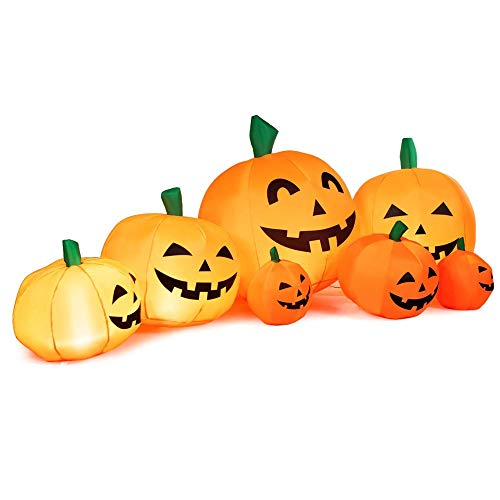 NBSXR Parche Calabaza Inflable Halloween 7.5 pies