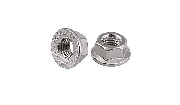 唐铭鲆544162 5pcs//Lot Metric Thread DIN934 M18 304 Stainless Steel Hex Nut Hexagonal Nut Screw Nut A2-70 Nuts Bolt