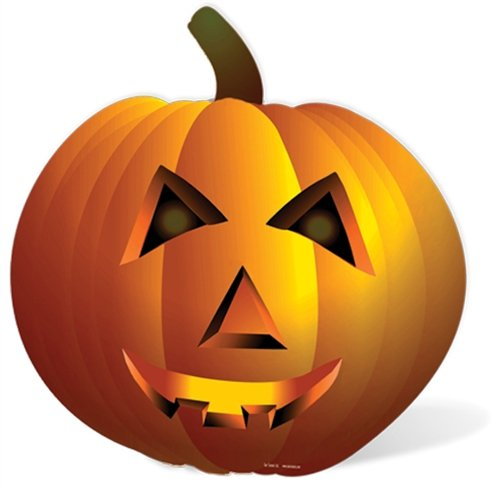 Kürbis - Horror/Halloween LEBENSGROSSE PAPPFIGUREN / STEHPLATZINHABER / ()