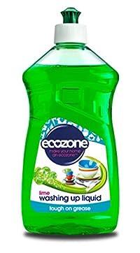 Pack Of 1 Ecozone Lime Washing Up Liquid