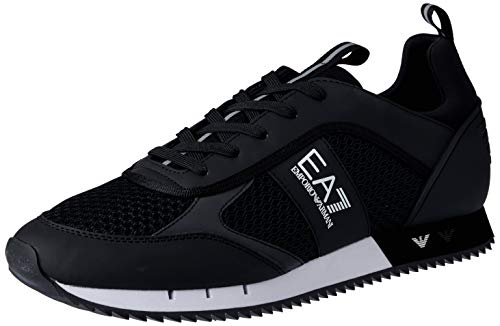 EA7 Mesh Lace Up Sneakers Herren