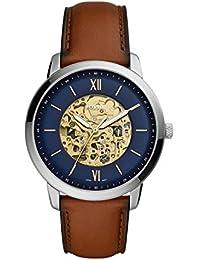 93c5d72a0384 Fossil Reloj Analógico para Hombre de Automático con Correa en ...
