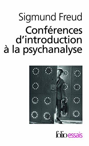 Télécharger Conférences Dintroduction à La Psychanalyse Pdf Livre