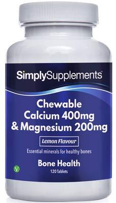 Calcio 400mg y Magnesio 200mg masticable – para la salud de