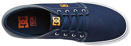 DC Trainers - DC Trase Tx Shoes - Navy/Orange Navy/ Orange