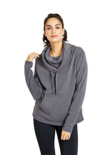 Zakti Winter Warmth Cowl Fleece Gris foncé