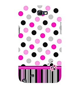Eaga Home Fly 3D Hard Polycarbonate Designer Back Case Cover for Samsung Galaxy Note 2 :: Samsung Galaxy Note 2 N7100