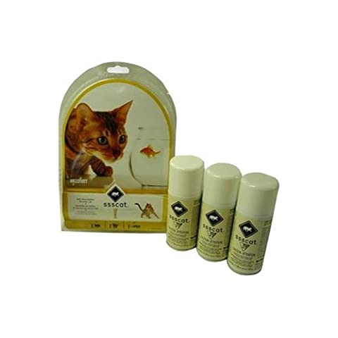 Innotek Multivet Ssscat Automated Cat Deterrent Kit and 2 Unscented Repellent Refills by A.C. Kerman - Pet Products
