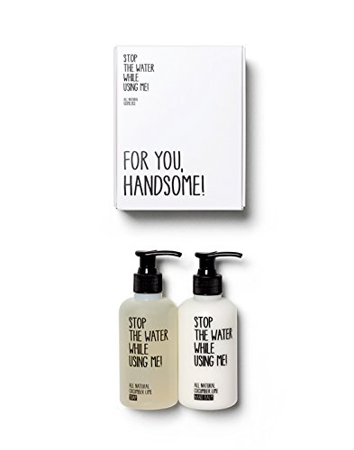 Stop-the-water While Using Me - Hand Kit - Pflegeset für schöne Hände - 2 TLG - in Geschenkbox -