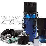 Kievy Auto Kühlschrank tragbar Mini-Insulin-Cup USB kühler und warm 2-8 ° C medizinischer Kühlschrank 730ML Multifunktion 5V Geeignet für Reisen/Camping
