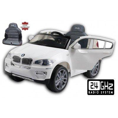 COCHE ELECTRICO BMW X6 CON CONTROL REMOTO 2 4 GHZ  12 VOLTIOS  MODELO 2017