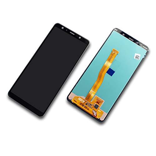 Samsung Galaxy A7 (2018) SM-A750F Display-Modul Screen + Digitizer schwarz Black GH96-12078A Samsung Lcd-modul