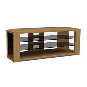 optimum bench 1200 stand for upto 55 inch tv oak tv. Black Bedroom Furniture Sets. Home Design Ideas