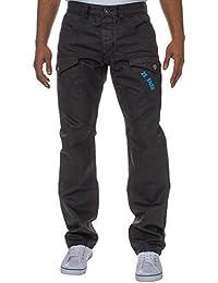 ENZO Homme Marque Créateur Droit Coupe Standard Jeans Jean Homme Tailles 28-42
