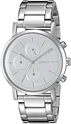 DKNY Analogue White Dial Womens Watch - NY2273