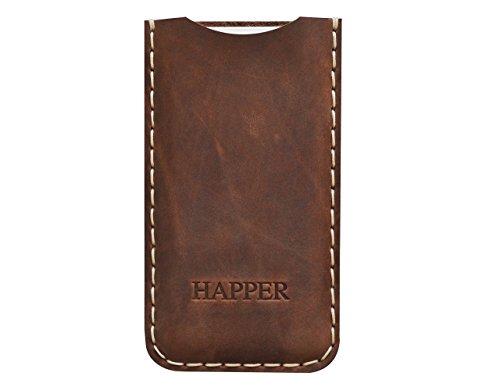 Housse en cuir pour iPhone étui Cover Coque Case Personnalisé Pochette Case Monogramme Inscrivez votre Nom ou Initiales (Toutes Tailles Disponibles) XS Max XR X 8 7 plus 6 6s +