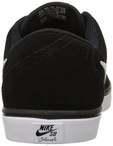 Nike Sb Check Solar, Chaussures de Skate Homme Blanco (Blanco (black/white))