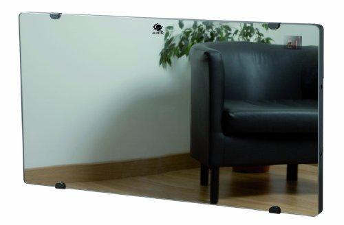 Alpatec GLASS 1500 Panneau Rayonnant Aluminium Mural Finition Miroir 1500 W