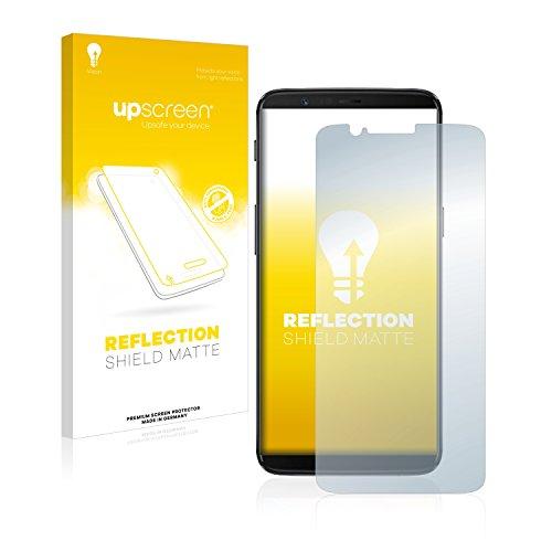 upscreen Reflection Shield Matte 5T matte Screen Protector 1Stück (S)–Displayschutzfolie (Matte Screen Protector, OnePlus, 5T, Kratzresistent, transparent, 1Stück (S)) (Screen Shield Protector Cover)