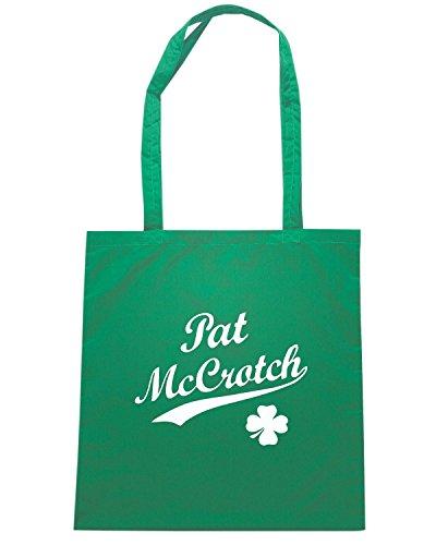 T-Shirtshock - Borsa Shopping TIR0162 pat mccrotch w dark tshirt Verde