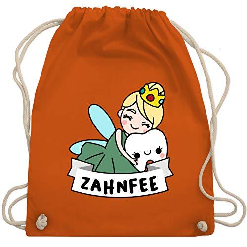 Karneval & Fasching - Zahnfee Kostüm - Unisize - Orange - WM110 - Turnbeutel & Gym Bag