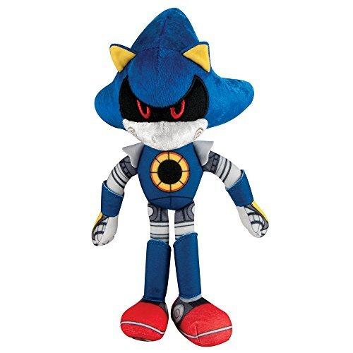 Sonic the Hedgehog 8-Inch Metal Sonic Boom Sonic Plush Toy by Sonic The Hedgehog (Sonic Von Toys Sonic Metal)