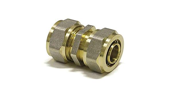 1 Type: Pex-al-pex raccords Ajustement de compression 3//4 m/âle connecteur droit 16 mm